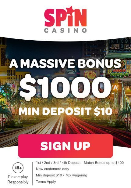 Deposit and Get Your Pokie Bonuses in AUD at Spin Palace