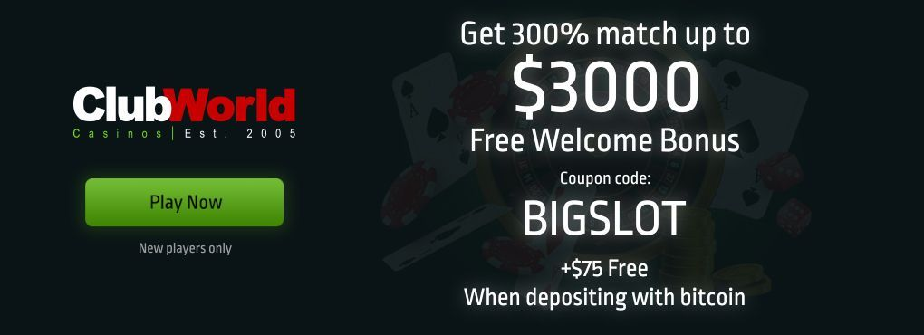 Special Promotions at Club World Flash Casino